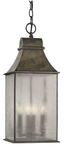 World Imports Lighting 61310-06 Revere 4-Light Hanging Lantern, Flemish by World Imports Lighting