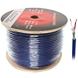 500ft One Pair DMX Digital Lighting Control Cable, 6mm OD, Braid Shield - Distributed by NAC Wire and Cables