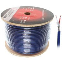 500ft One Pair DMX Digital Lighting Control Cable, 6mm OD, Braid Shield - Distributed by NAC Wire and Cables by PIMG