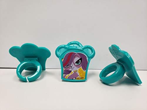 12ct. Littlest Pet Shop Zoe Trent Cake Rings -