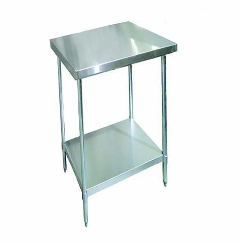 Zanduco 24'' X 24''-All Stainless Steel Worktable