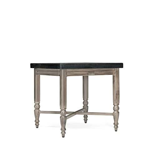 Blue Oak Outdoor Saylor Patio Furniture Natural Stone Top Side Table by Blue Oak