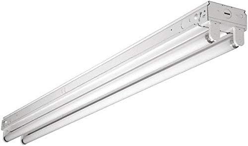2 Lamp Fluorescent Strip Light Cooper Lighting 6 Pack 32 Watt