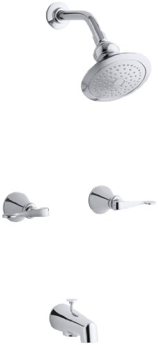 - KOHLER K-16213-4-CP Revival Bath and Shower Faucet, Polished Chrome