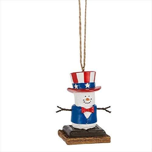 (S'mores Original Uncle Sam Ornament)
