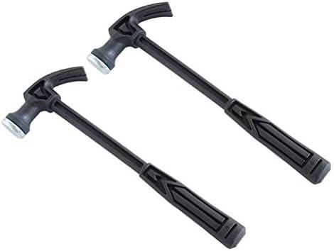 NIHAOA Emergency tool 2 Piece Claw Hammer Metal Manual Repair Tool Household Hammer