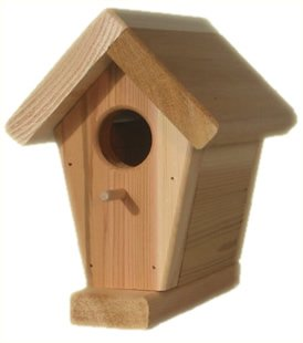 All Things Cedar CEDAR Bird House