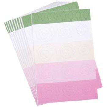 (Quilling Spiral Roses Kit - White, Ivory & Pink 1 pcs sku# 662558MA)