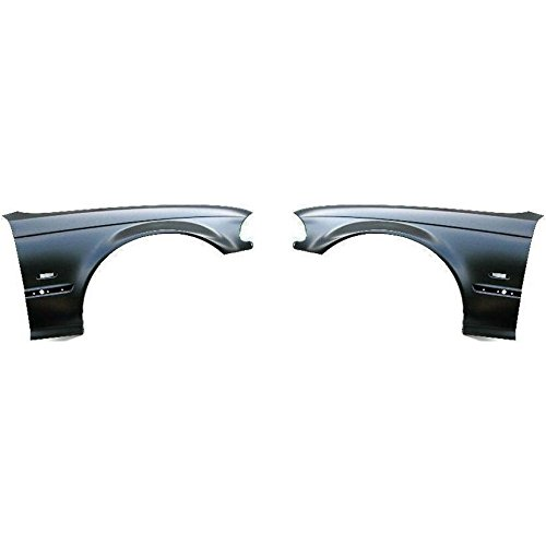 Diften 110-C2130-X01 - New Fenders Front Quarter Panels Set of 2 Left & Right Side 325 323 328 330 Pair - Bmw Quarter Panel