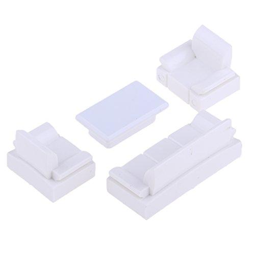 (Baoblaze 1:50 Chinese Style Simulation Sofa Model Furniture Layout Scenery Parts)