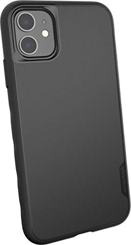 Smartish iPhone 11 Slim Case - Kung Fu Grip [Lightweight + Protective] Thin Cover (Silk) - Black Tie Affair