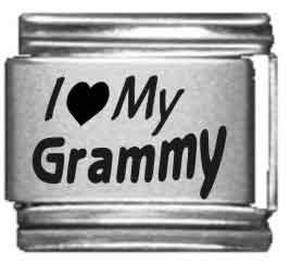 I Heart my Grammy Laser Etched