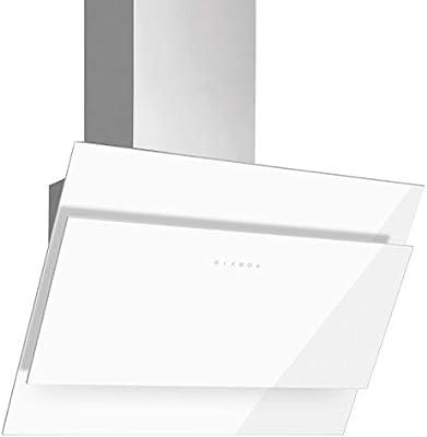 Campana de salida de aire sin cabeza, 60 cm, acero inoxidable, cristal: Amazon.es: Grandes electrodomésticos