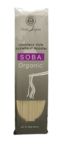Muso From Japan Organic Japanese Noodles, Soba (40% Buckwheat Noodles), 8.8 Ounce, 6 Count
