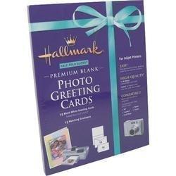 Glossy 15 Sheet (Sierra Entertainment Hallmark Premium Blank Photo Greeting Card - Letter - 8.5