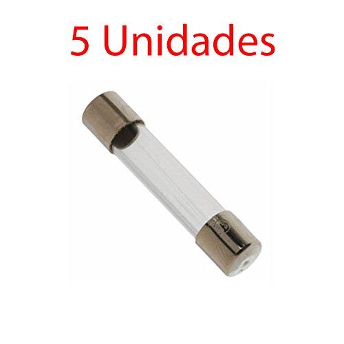 5X Fusible Cristal 6X30 mm 8A 250V