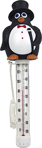 Poolmaster Floating Thermometer for Swimming Pools and Spas, Mr. Penguin
