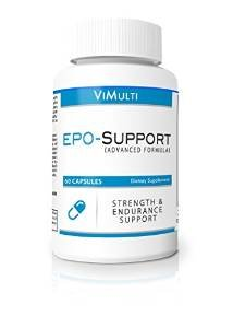ViMulti EPO Endurance Supplements for Runners and Cyclist Helps Eliminate Lactic Acid burn, Increases Endurance, Power, Speed While Burning Pure Fat and Building Lean Muscle. Best Epo Supplement