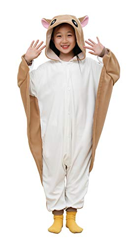 TYLER PERRY Unisex Children Flying Squirrel Pajamas One-Piece Cosplay Costume for Halloween]()