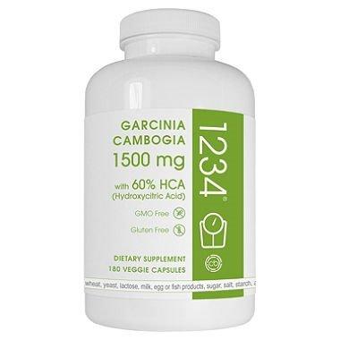 Creative Bioscience Garcinia Cambogia 1234 (180 Capsules) by Europe Standard