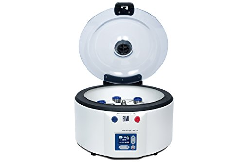 ELMI CM-7S Clinical PRP Benchtop Centrifuge with 6-Place Swing-Out Rotor for 50 mL (Small Benchtop Centrifuge)