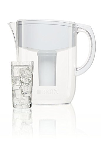 brita 10 cup everyday bpa free water pitcher with 1 filter white in the uae see prices. Black Bedroom Furniture Sets. Home Design Ideas