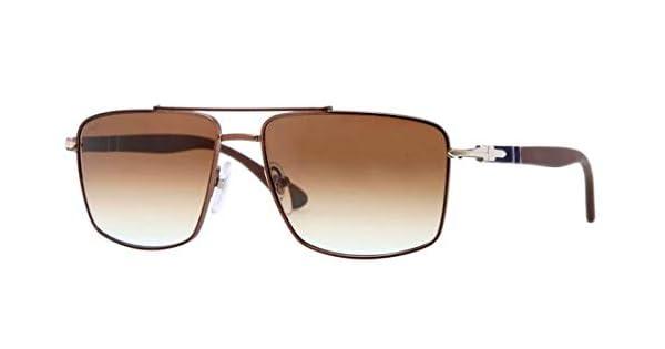 10e088da7 Persol 2430 Gunmetal Brown Sunglasses: Amazon.ae: vintageframes