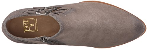 Frye Ray Belted Bootie Donna Camoscio Stivaletto
