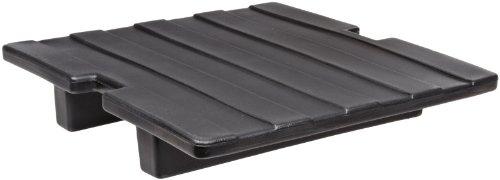 Carlisle IC2250S03 Polyethylene Ice Caddy Shelf, Black