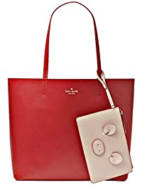 Kate Spade Year Of The Pig Little Len Leather Large Tote Handbag