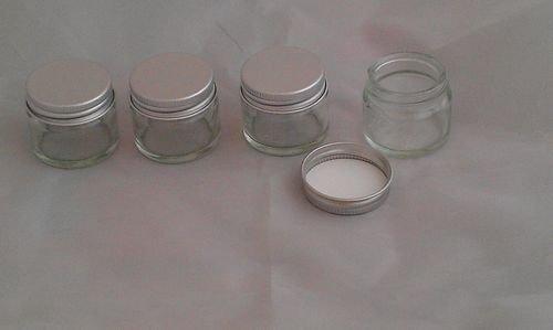 4x Stück 15ml Klare Glas Krüge/Saat- & Anzuchttopf Bastel und Aufbewahrungszubehör Creme, Balsam, Kräuter & Kerzen