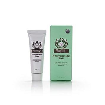 Moon Valley Organics Gift Set with Moon Melt Lotion Bar, Lip Balm Rejuvenating Rub