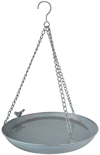 Design Hanging Birdbath - Esschert Design FB403 Series Hanging Bird Bath