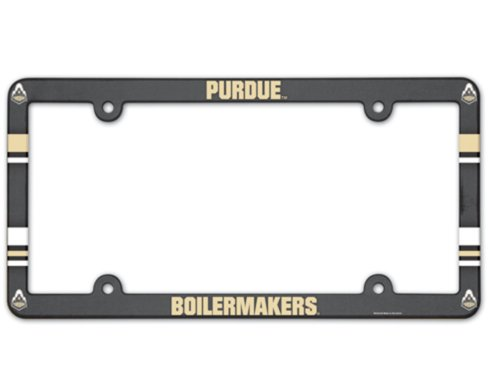 Plate Plastic License Full Color - Wincraft NCAA Purdue Boilermakers 6