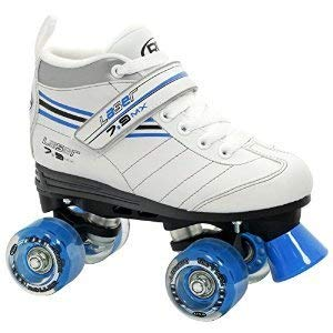 Roller Derby Laser 7.9 MX Girls Speed Roller Skates - 8.0