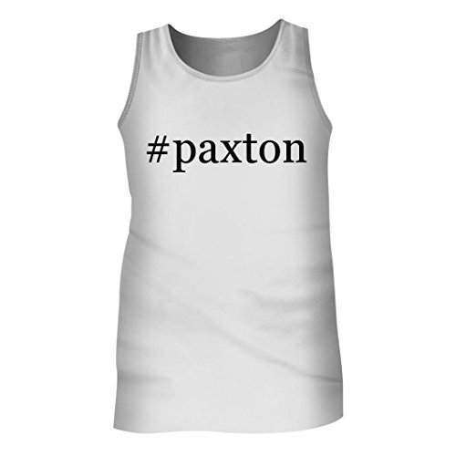 Tracy Gifts #Paxton - Men's Hashtag Adult Tank Top, White, - Novis Instagram