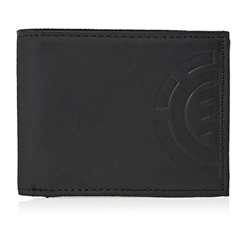 Element Daily Leather Wallet in Black from ELEMENT