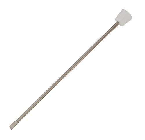 Homebrew 1/4 Stainless Steel Thermowell and #7 Bung Stopper for Glass Carboy Fermentation Temperature Thermometer Probe