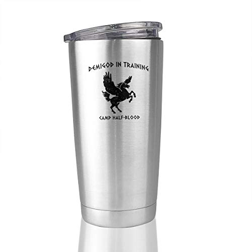 Camp Half Blood Demigod In Training 20 Oz Stainless Steel Tumbler Cup Vacuum Coffee Mug Gifts