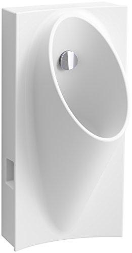 KOHLER 5244-ER-0 Steward Hybrid High-Efficiency Urinal with 1/2