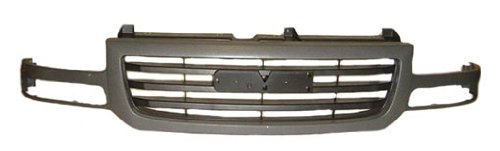 OE Replacement GMC Sierra Pickup Grille Assembly (Partslink Number GM1200476)