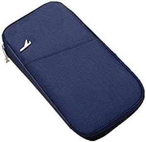 نايلون ازرق للجنسين - محفظة للبطاقات والهويات