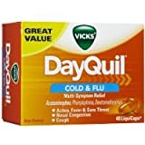Vicks DayQuil Cold & Flu Multi-Symptom Relief LiquiCaps 48 Count Sold By HERO24HOUR Thank You