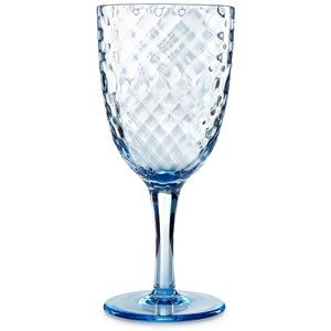 Amazon.com | Home Design Studio Blue Acrylic Drinkware Collection ...