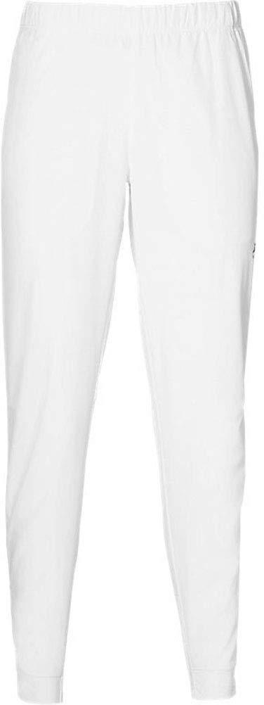 ASICS 2042A044 Women's Practice Pant, Brilliant Wht - Small