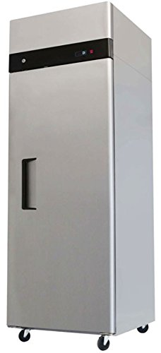 29'' Upright Stainless Steel 1 Door Commercial Freezer, 22.6 Cubic Feet, MBF-8001, for Restaurant by MBF-8001