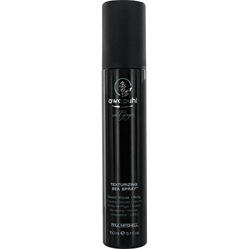 Paul Mitchell by Paul Mitchell Awapuhi Wild Ginger Texturizing Sea Spray for Unisex, 5.1 Ounce (Sea Salt Texturizing Spray compare prices)