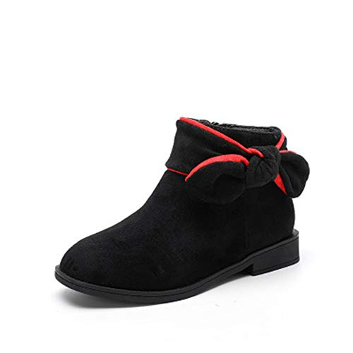 ba6533e2d1 cici shoes Shoes for Boys/Girls Leather Waterproof Boots with Orthopedic  Insole Wool Lining (
