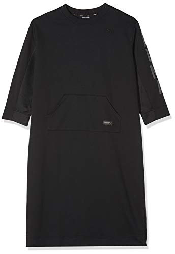 Fusion Dress Black Robe Puma Cotton wXdHwq