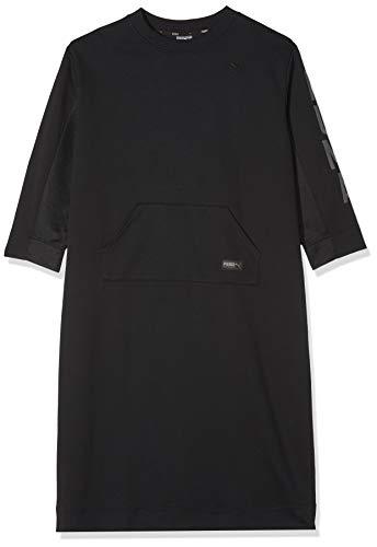 Fusion Dress Black Robe Puma Cotton wXdHwq